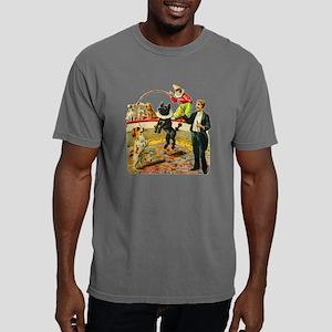 circus dog act Mens Comfort Colors Shirt