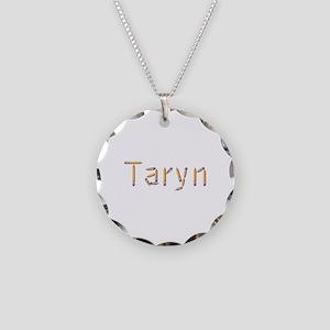 Taryn Pencils Necklace Circle Charm
