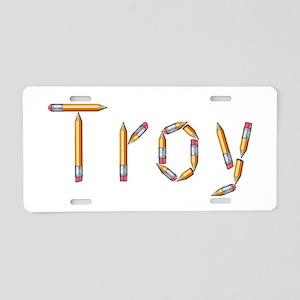 Troy Pencils Aluminum License Plate