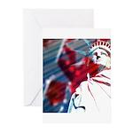 9/11 Liberty Greeting Cards (Pk of 10)
