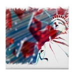 9/11 Liberty Tile Coaster