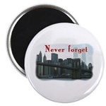 WTC Never Forget Magnet
