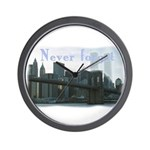 WTC Never Forget Wall Clock