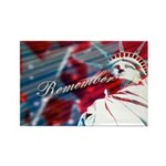 9/11 Remember Rectangle Magnet