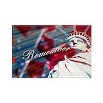 9/11 Remember Rectangle Magnet (100 pack)