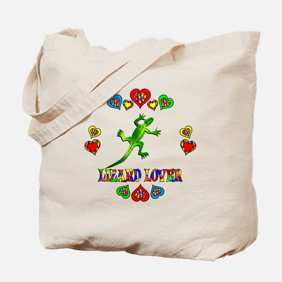 Lizard Lover Tote Bag