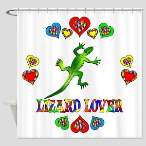 Lizard Lover Shower Curtain