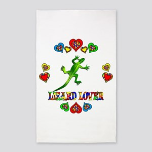 Lizard Lover 3'x5' Area Rug