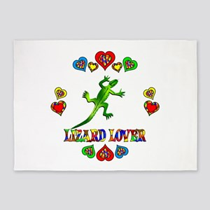 Lizard Lover 5'x7'Area Rug