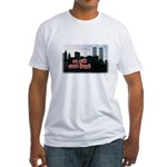 9/11 We Will Never Forget Fitted T-Shirt