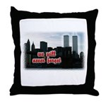 9/11 We Will Never Forget Throw Pillow