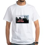 9/11 We Will Never Forget White T-Shirt