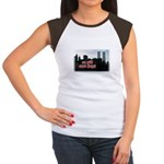 9/11 We Will Never Forget Women's Cap Sleeve T-Shi