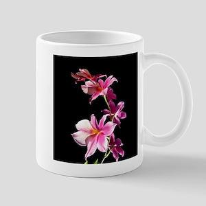 Pink Flowers. Orchid. Mug