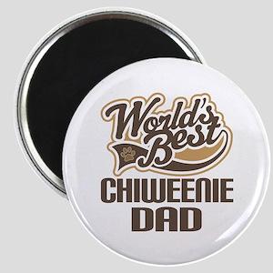 Chiweenie Dog Dad Magnet