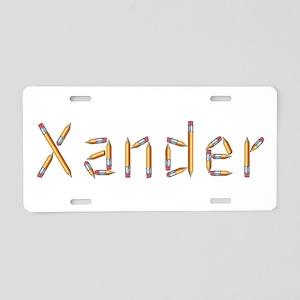 Xander Pencils Aluminum License Plate