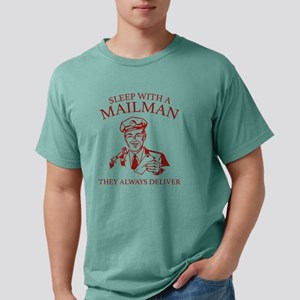 SleepWithAMailman1C Mens Comfort Colors Shirt
