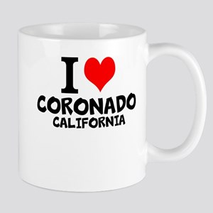 I Love Coronado, California Mugs