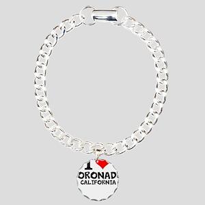 I Love Coronado, California Bracelet