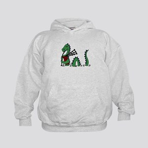 Loch Ness Monster Bagpipe Sweatshirt