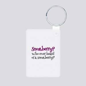 'Snozzberry?' Aluminum Photo Keychain