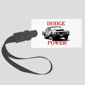AFTMDodgePower! Large Luggage Tag