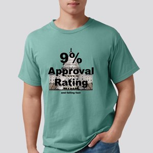 2-9% approval rating Mens Comfort Colors Shirt