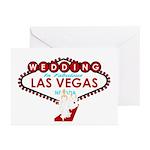 Wedding In Las Vegas Bridesmaids Cards Pk of 20