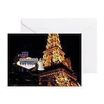 Wedding In Las Vegas Eiffel Tower Cards (Pk of 20)