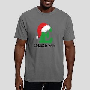 Christmas Santa Hat E Mo Mens Comfort Colors Shirt