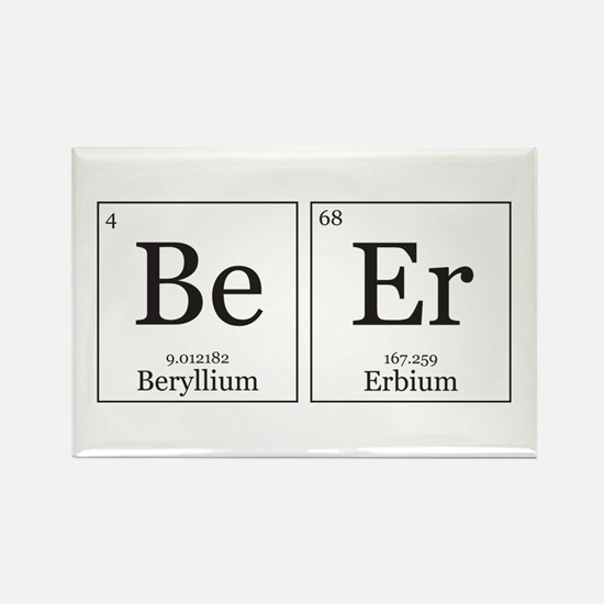 BeEr [Chemical Elements] Rectangle Magnet