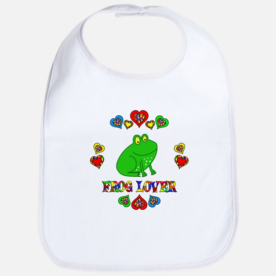Frog Lover Bib
