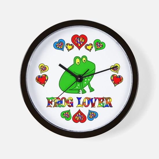 Frog Lover Wall Clock