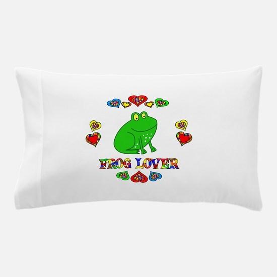 Frog Lover Pillow Case