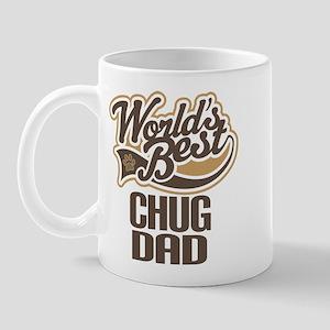 Chug Dog Dad Mug