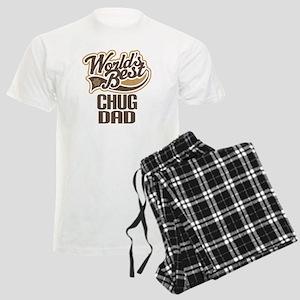 Chug Dog Dad Men's Light Pajamas