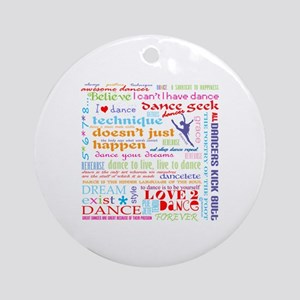 Ultimate Dance Collection Ornament (Round)