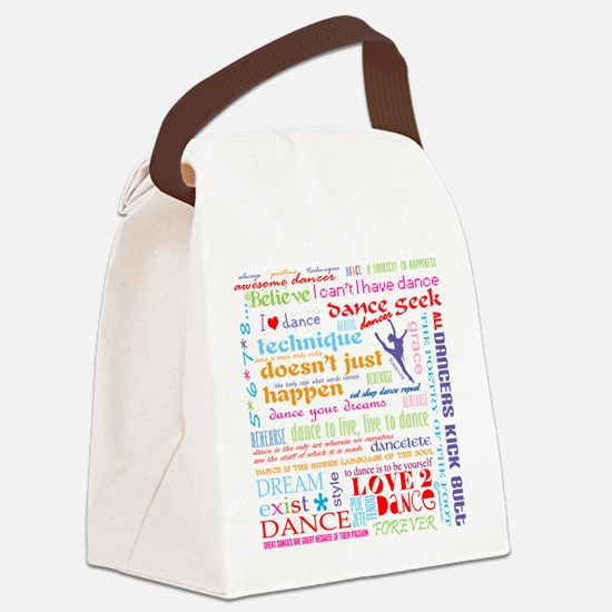 Ultimate Dance Collection Canvas Lunch Bag
