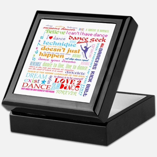 Ultimate Dance Collection Keepsake Box