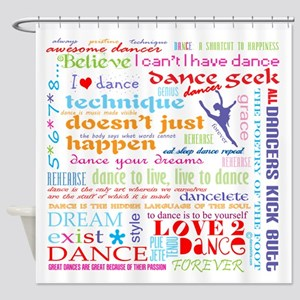 Ultimate Dance Collection Shower Curtain