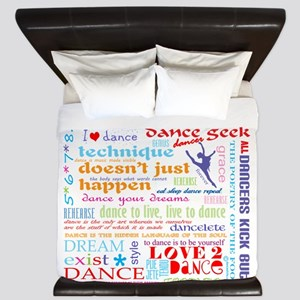 Ultimate Dance Collection King Duvet