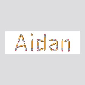 Aidan Pencils 36x11 Wall Peel
