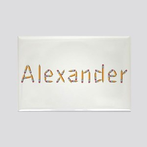 Alexander Pencils Rectangle Magnet