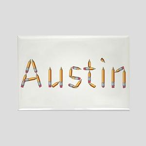 Austin Pencils Rectangle Magnet