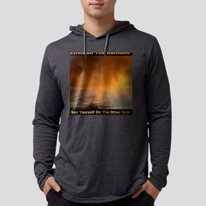 Envision The Rainbow See Yoursel Mens Hooded Shirt