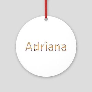 Adriana Pencils Round Ornament