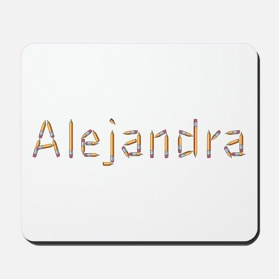 Alejandra Pencils Mousepad