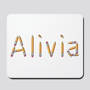 Alivia Pencils Mousepad