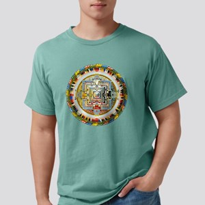 Kalachakra3-1 Mens Comfort Colors Shirt