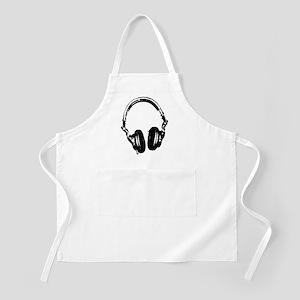 Dj Headphones Stencil Style T Shirt Apron